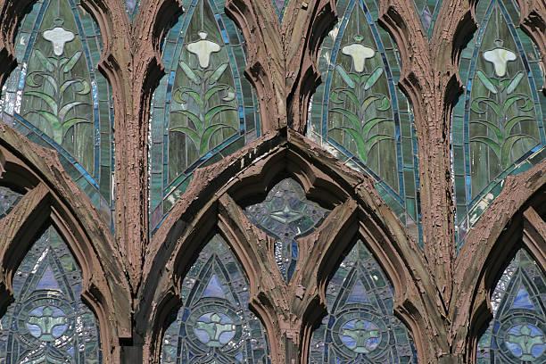 Gotische Kathedrale Fenster – Foto