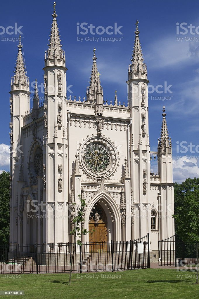 Gothic chapel royalty-free stock photo
