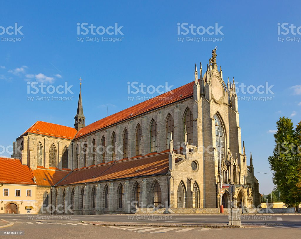 Gothic church of Our Lady in Kutna Hora, Czech Republic - Photo