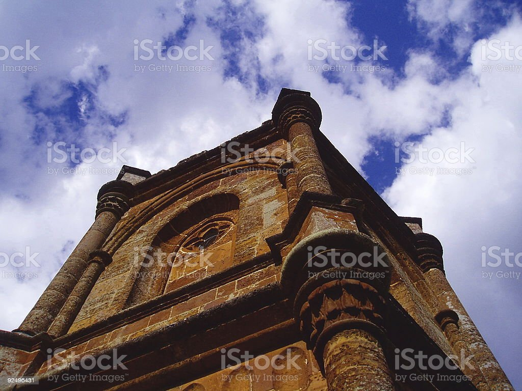 Gothic Church royalty-free stock photo