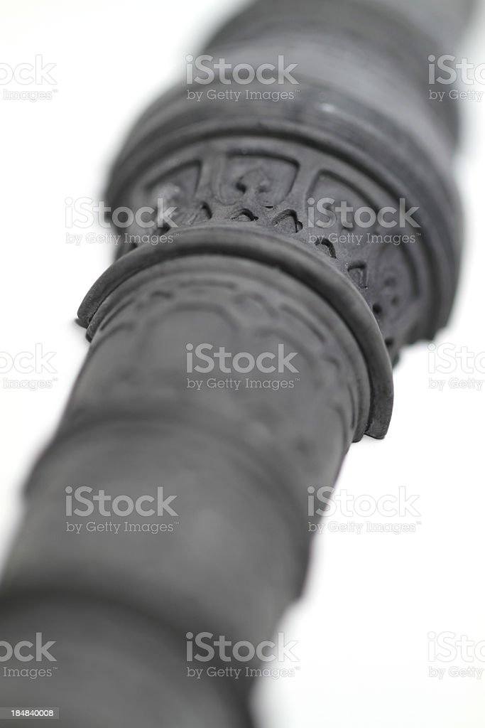 Gothic Cross Section royalty-free stock photo