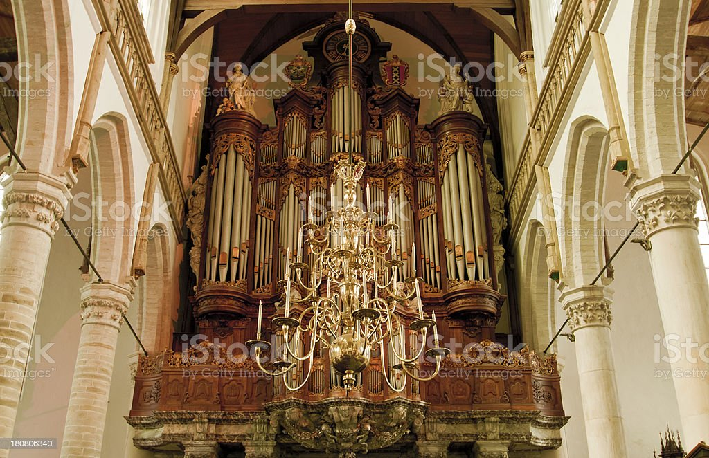 Gothic curch, Amsterdam royalty-free stock photo