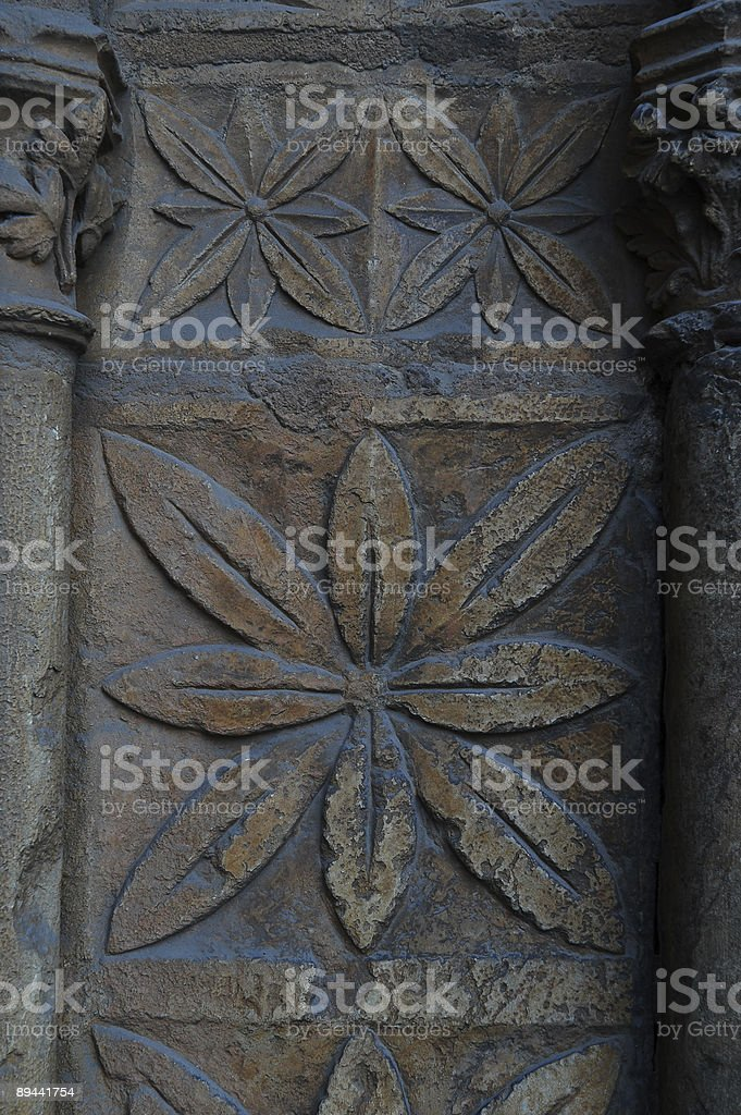 Gothic floral royalty-free stock photo