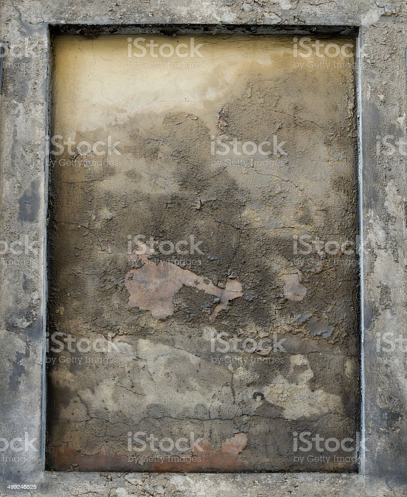 Gothic frame stock photo