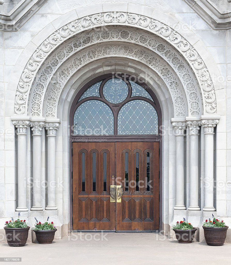 Gothic gateway doors royalty-free stock photo & Gothic Gateway Doors stock photo 182776926 | iStock Pezcame.Com