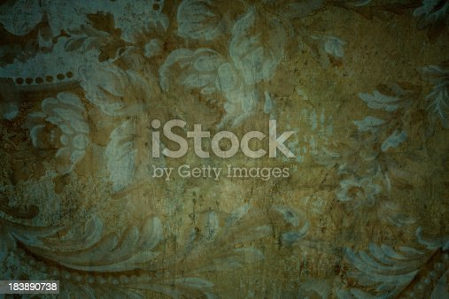 istock Gothic Medieval Period Looking Floral Background 183890738