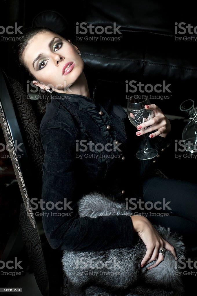 Gothic portrait royalty-free stock photo