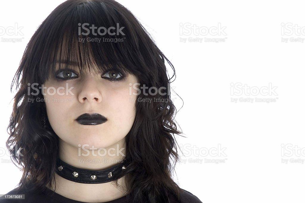 Gothic Princess - 4 stock photo