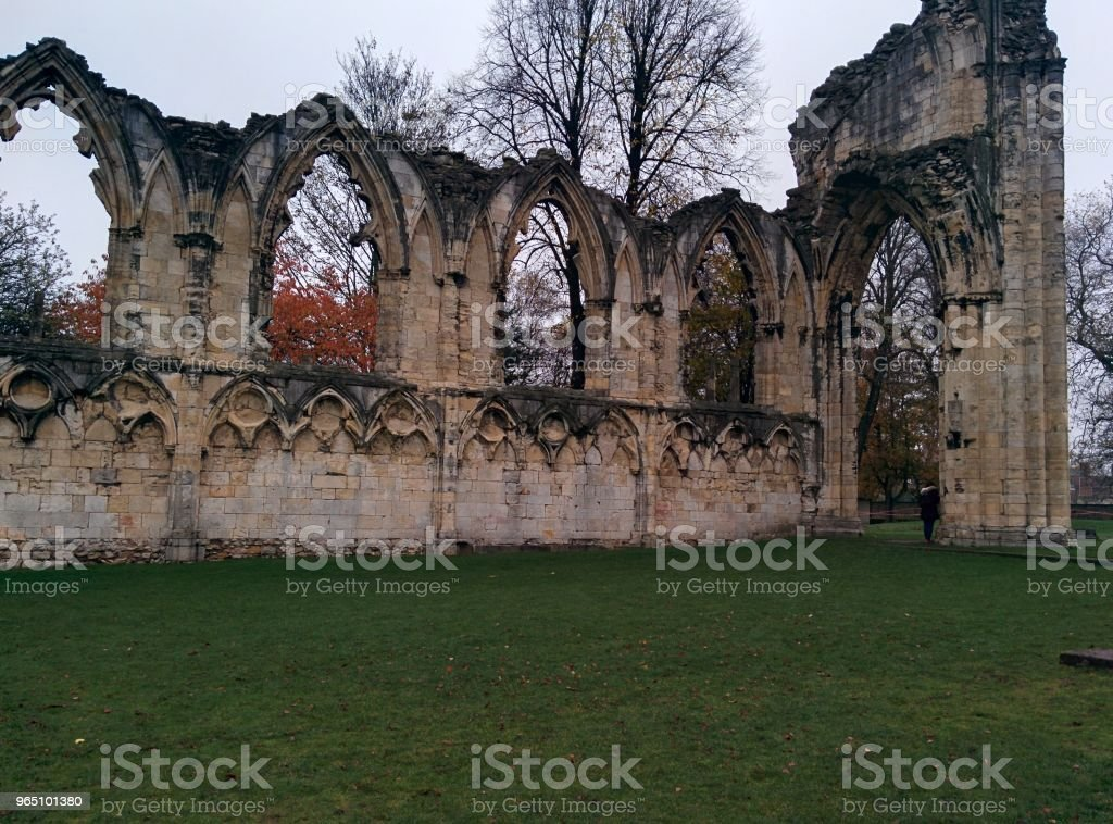 Gothic Ruins zbiór zdjęć royalty-free
