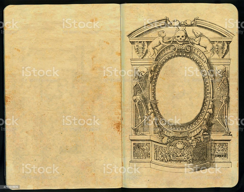 Gothic Sketch Pad Vol II royalty-free stock photo