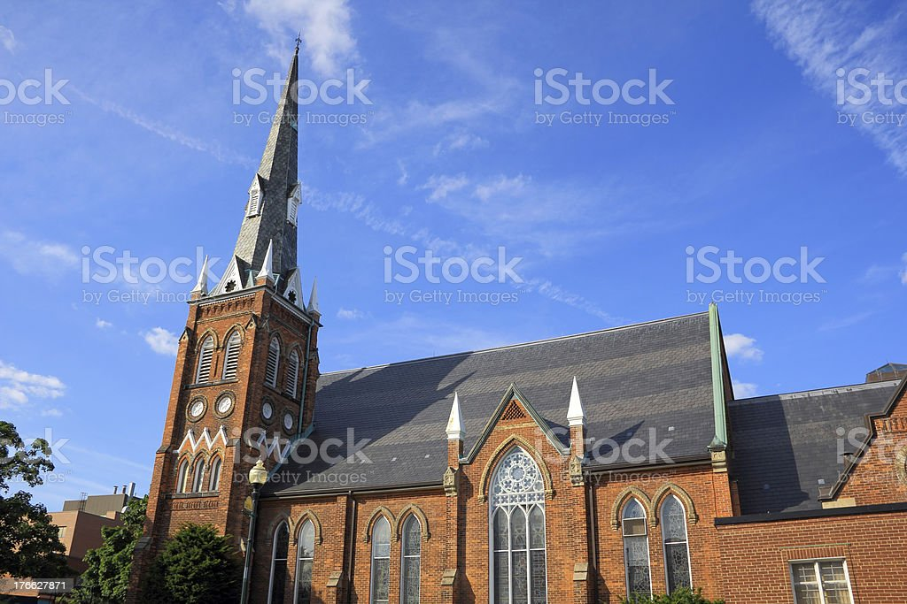 Gothic Style Church stock photo