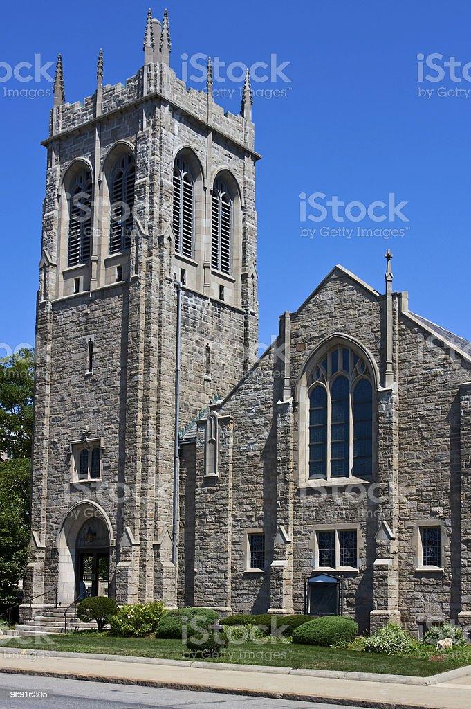 Gothic style church royalty-free stock photo