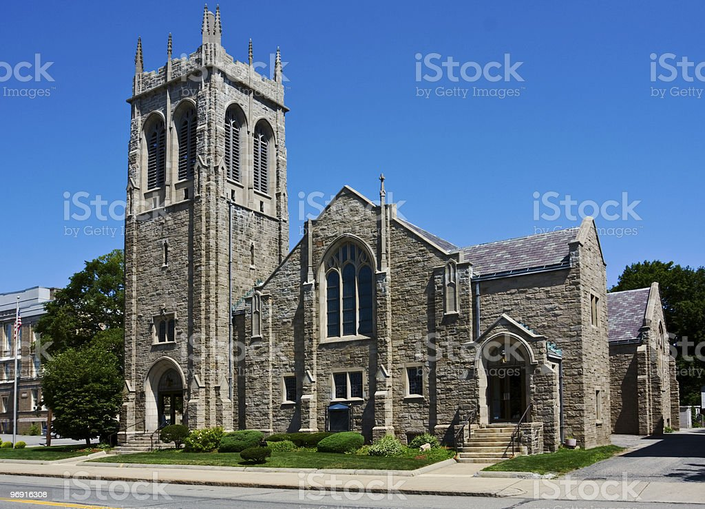 Gothic style church royalty-free stock photo