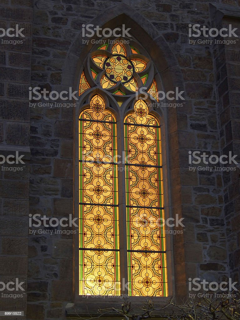 gothic style light royalty-free stock photo
