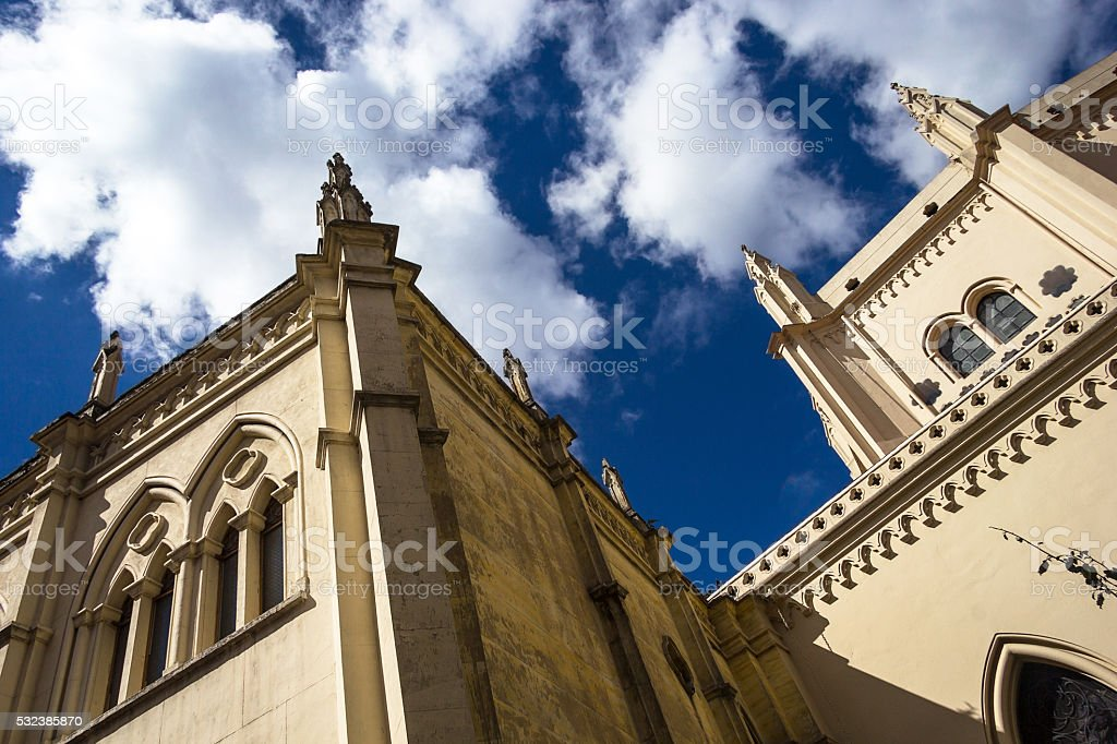 Gothic style structure. stock photo