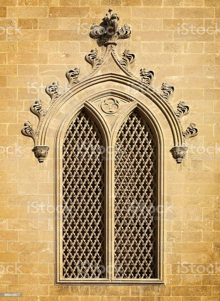 Gothic Window royalty-free stock photo