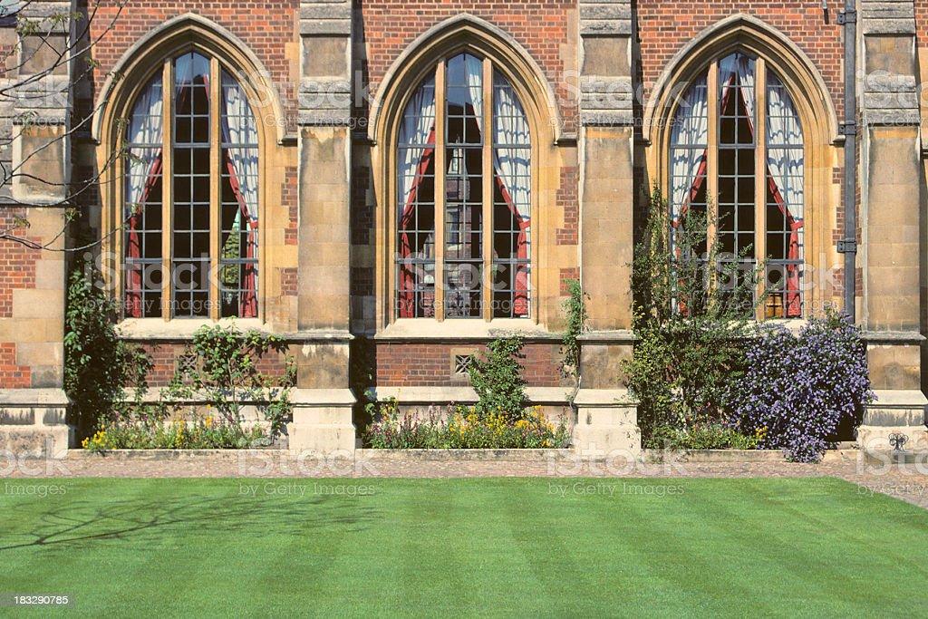 Gothic Windows royalty-free stock photo