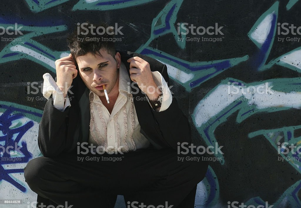 Gothic with style royalty-free stock photo