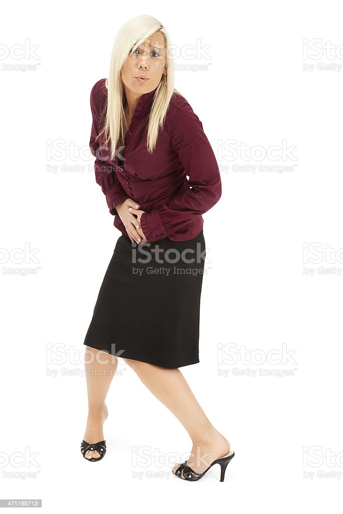 Gotta Go! stock photo