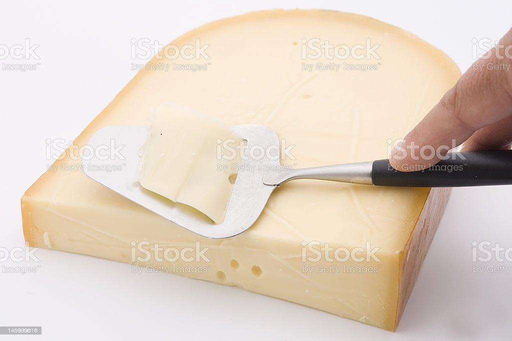 gouda cheese royalty-free stock photo