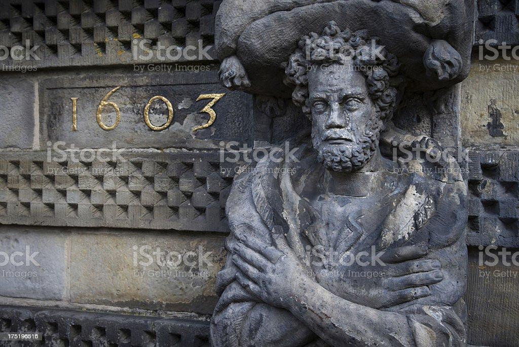 Gouda Statue royalty-free stock photo