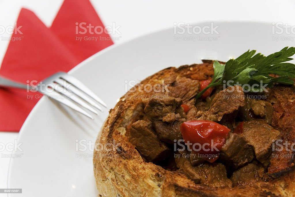 goulash royalty-free stock photo