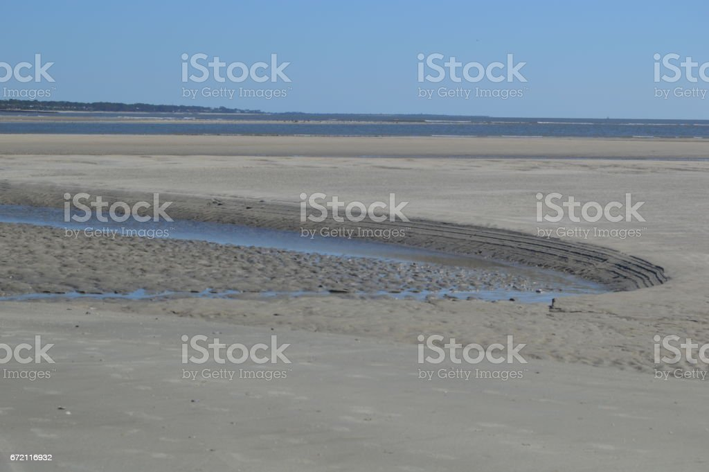 Goulds Inlet Low Tide St Simons Island Ga Stock Photo More