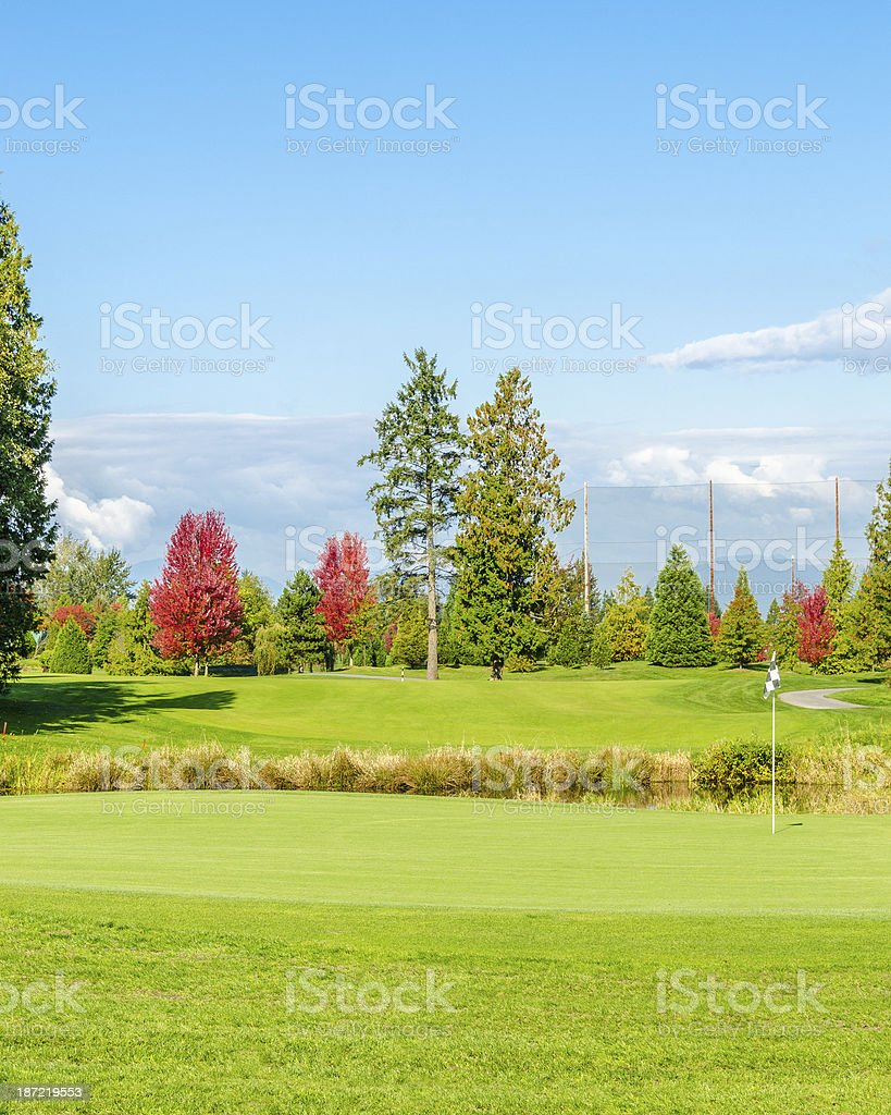 Goulf Course royalty-free stock photo