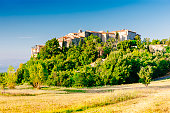 istock Gourdon village in Provence, France 487078692