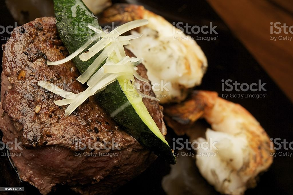 Gourmet Beef Filet royalty-free stock photo