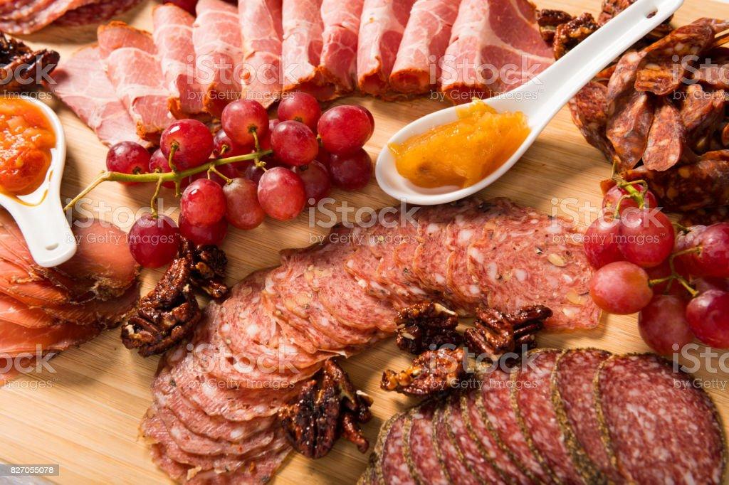 Gourmet-Schinken Platte – Foto