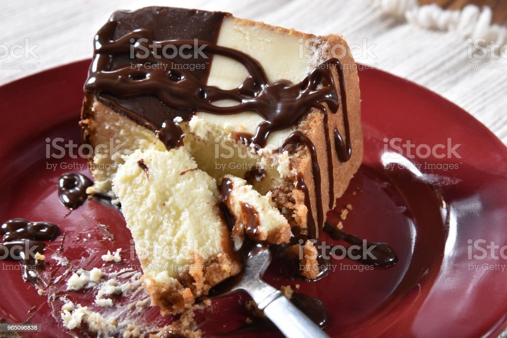 Gourmet cheesecake royalty-free stock photo