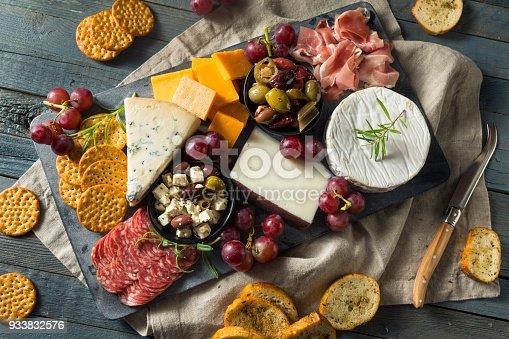 istock Gourmet Fancy Charcuterie Board 933832576