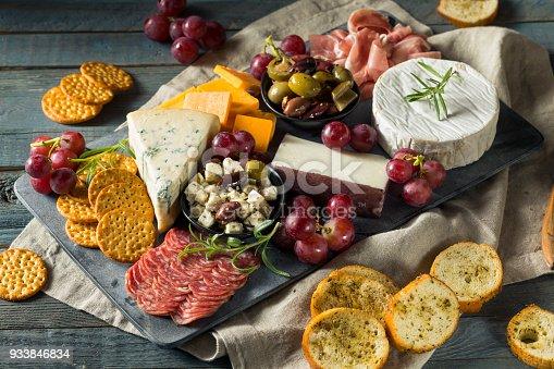istock Gourmet Fancy Charcuterie Board 933846834