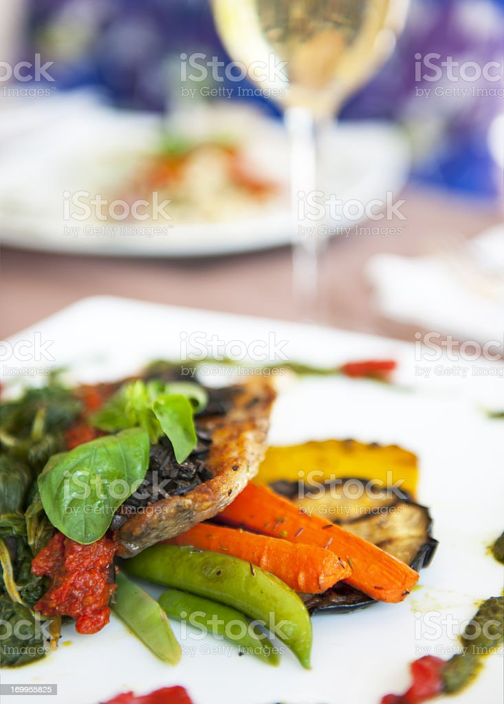 Gourmet Food royalty-free stock photo