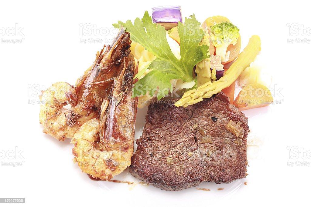 Gourmet food royalty-free stock photo