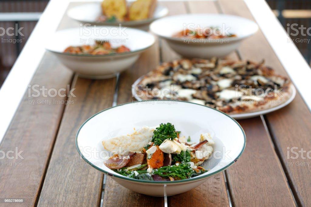 Gourmet Healthy Chicken And Vegetable Comfort Food zbiór zdjęć royalty-free