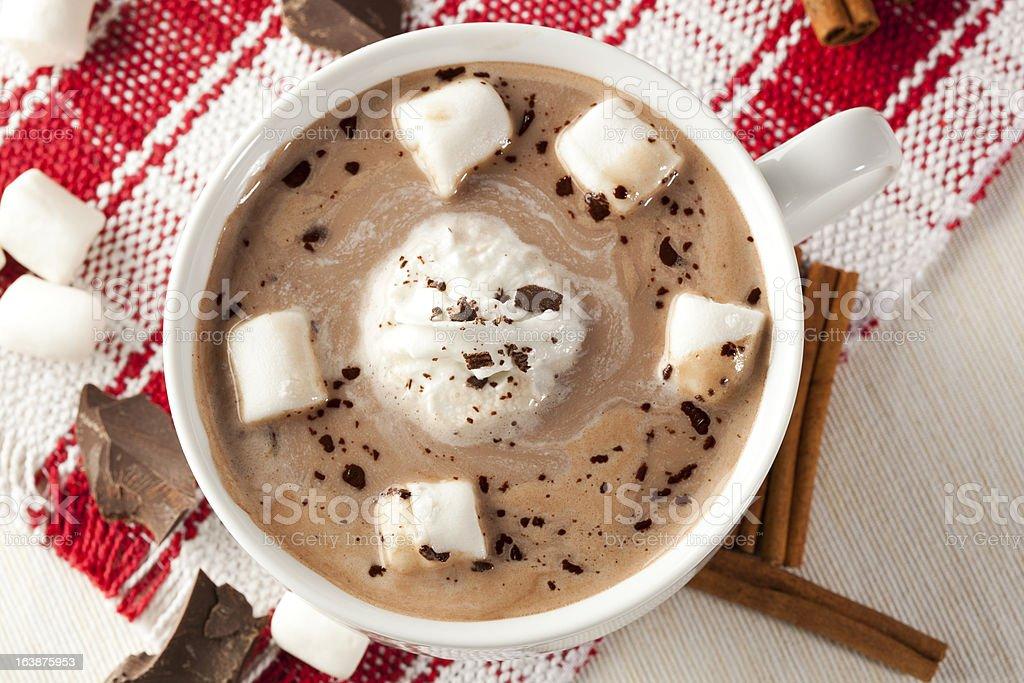 Gourmet Hot Chocolate royalty-free stock photo