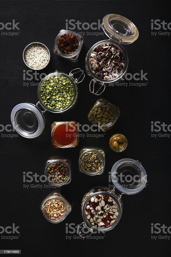 gourmet ingredients royalty-free stock photo
