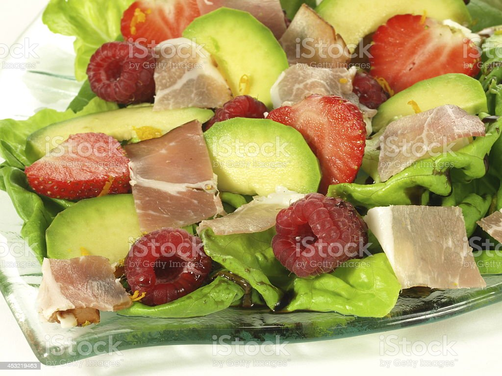 Gourmet lunch royalty-free stock photo