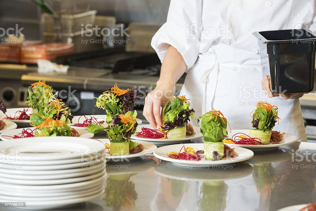 Gourmet Salad stock photo