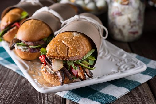 Gourmet Sub Sandwich