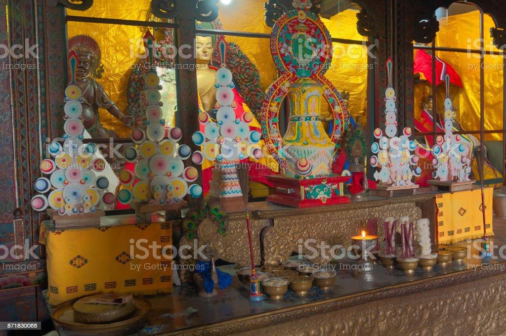 Goutama Buddha - Sikkim , India stock photo