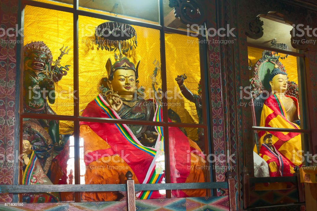 Goutama Buddha - Sikkim , India stock photo