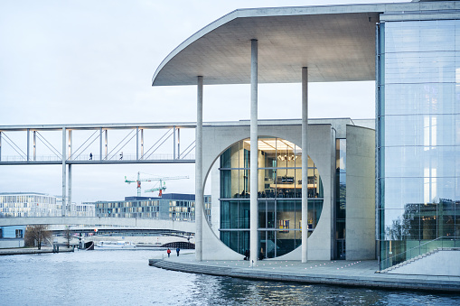 Governemnt buildings, River Spree, Berlin, Germany