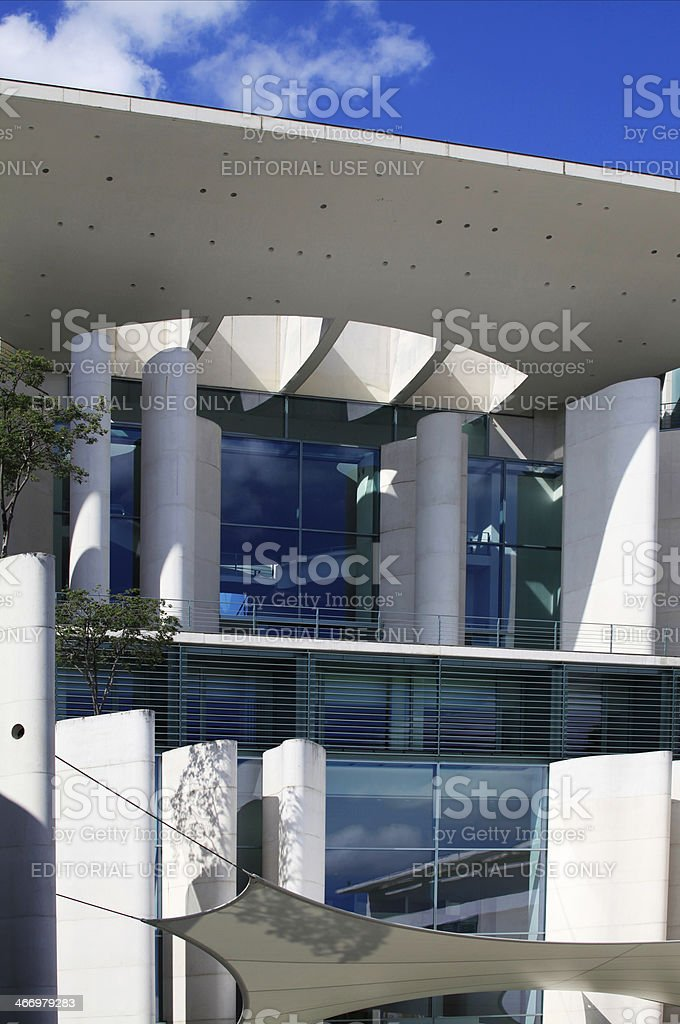 Government Building, Berlin royalty-free stock photo
