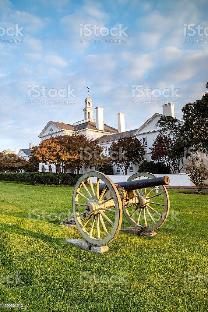 Government building in Richmond VA royaltyfri bildbanksbilder