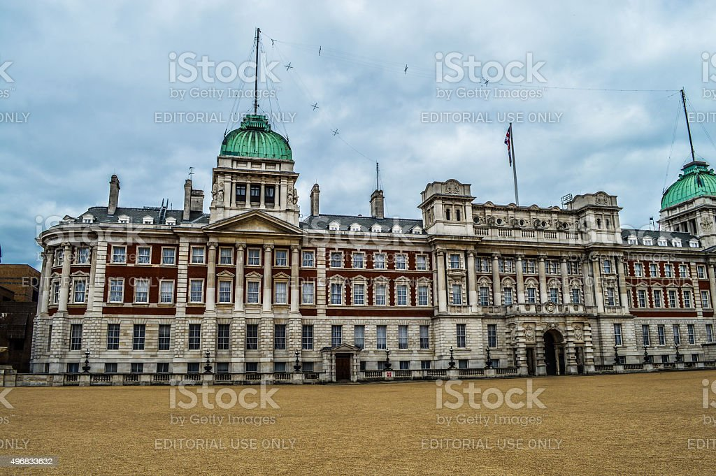 Government building - London, UK stock photo