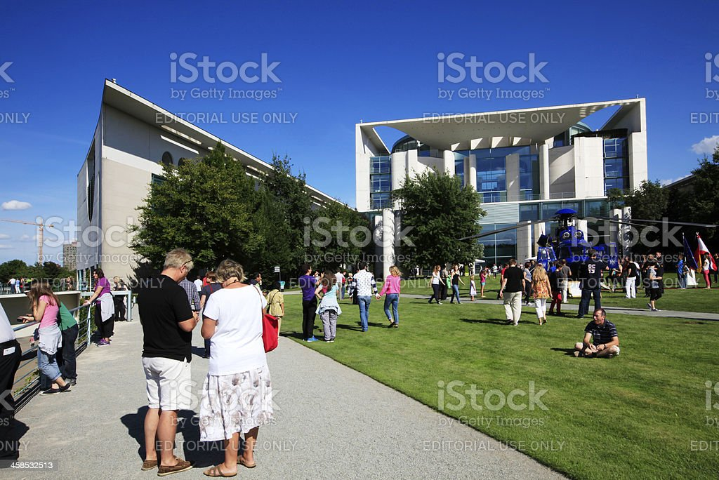 Government building Marie Elisabeth Lunders Haus royalty-free stock photo