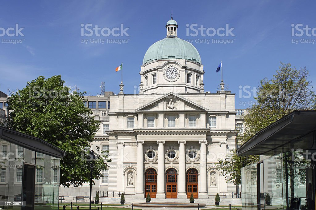 Government Buildings, Dublin, Ireland. stock photo
